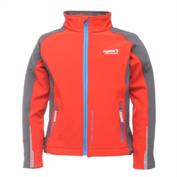 Regatta softshell. bunda Broadcast Pepper 5-6 let